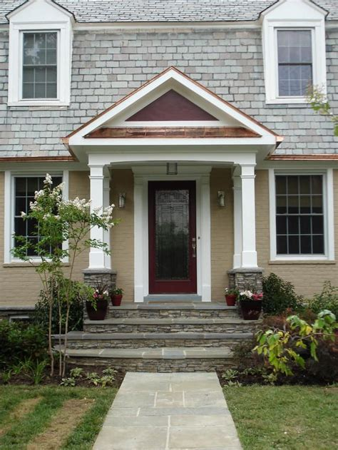 Portico Designs For Front Door 148 Best Images About Garrison Colonial Exterior On Front Porches Front Doors And
