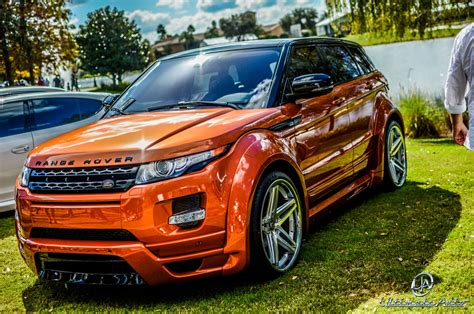 burnt orange range rover range rover evoque vesuvius orange by ultimate auto