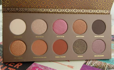 Zoeva Eyeshadow Fix Review zoeva cocoa blend eyeshadow palette review swatch and review