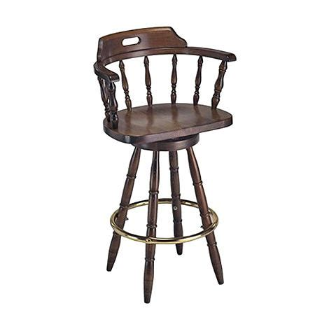 Dominion Bar Stools by Barstools Dominion Wood Products With Captain Chair