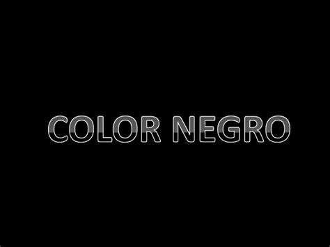 imagenes a negro el color negro