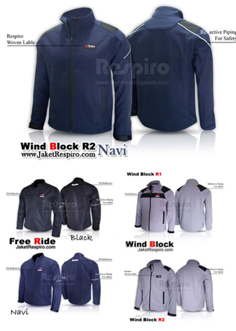design jaket respiro jaket motor respiro jaket anti angin 100 anti air auto