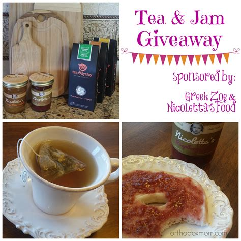 Tea Giveaway - tea jam giveaway adventures of an orthodox mom