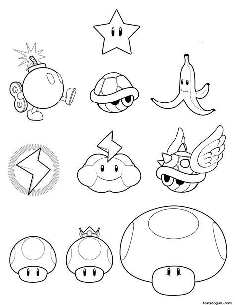 super mario koopa wario toad coloring pages