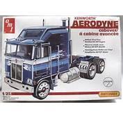 AMT 1/25 Kenworth Aerodyne Cabover Semi Truck 5018 Plastic Model Kit