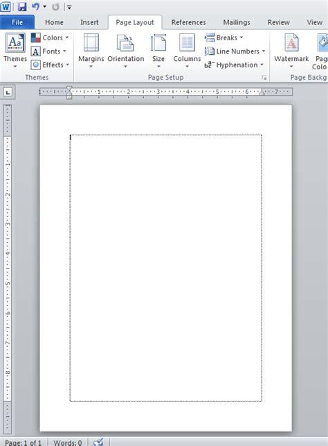 membuat garis putus putus di word 2010 cara membuat garis tepi di word 2010 cara menilkan garis