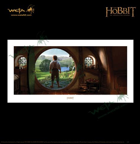 Weta Giveaways - weta workshop an unexpected journey art print