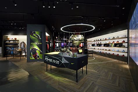 shoe store with basketball court nike basketball shop by specialnormal chiba japan