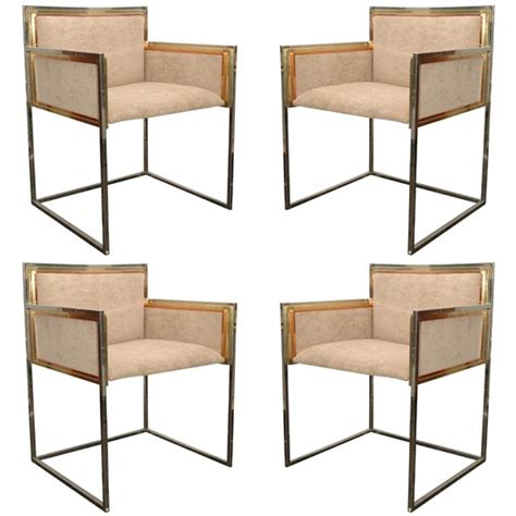 Jansen Furniture by Set Of Four Armchairs By Maison Jansen Collection Alain
