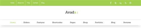 avada theme header customization header features avada
