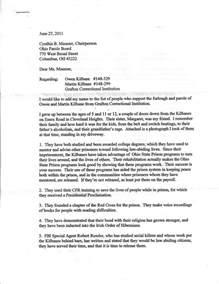 Parole Board Tx Sle Letter To Parole Board Best Letter Sle