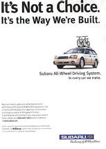 Subaru Ad Agency by Print Ad Library Fuji Heavy Industries Subaru Of