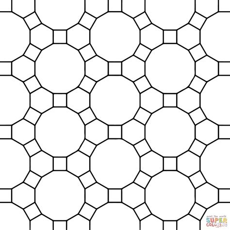tessellation coloring pages printable az coloring pages
