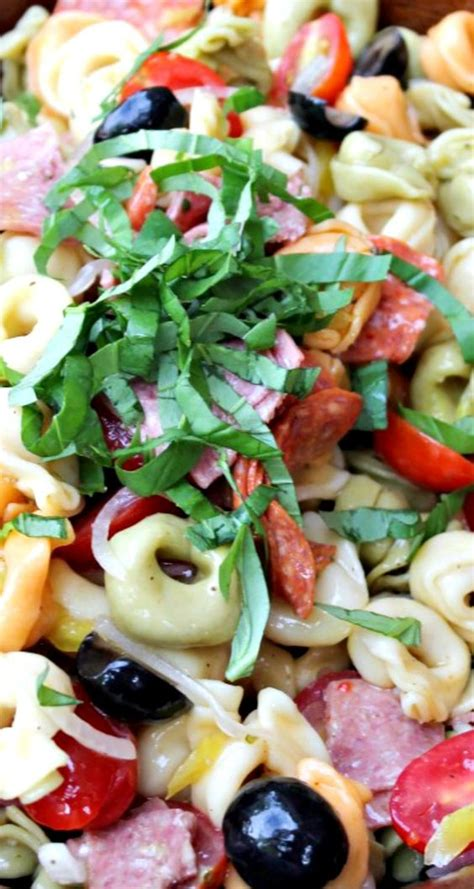 tortellini pasta salad tortellini pasta salad recipe healthy recipes greek