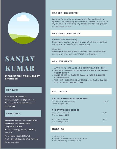 How To Make Professional Cv Format by Resume Format Cv Format Freshers Resume Sle Templates