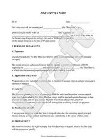 Legal Loan Agreement Template Promissory Note Create A Free Promissory Note