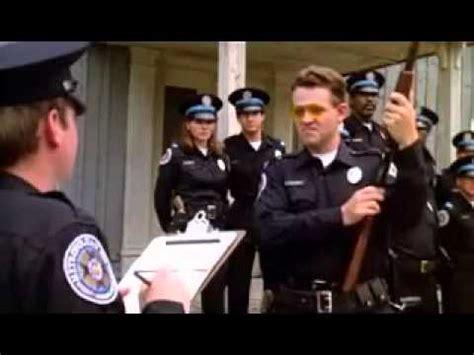 police academy haircut tackleberry police academy