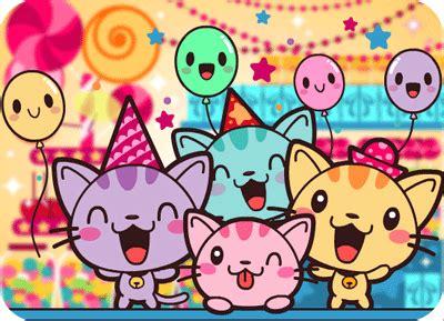 imagenes de happy birthday con gatos gatitos dese 225 ndote un happy birthday ツ imagenes para