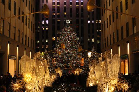 weihnachtsmarkt new york rockefeller christmas reisebericht new york an weihnachten lalafab