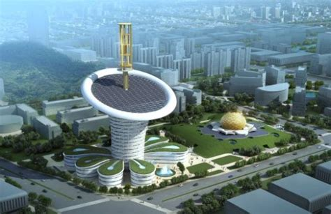 new carbon architecture building to cool the planet books wuhan s shaped zero carbon energy center set to bloom