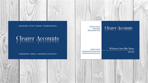 Account On Business Card