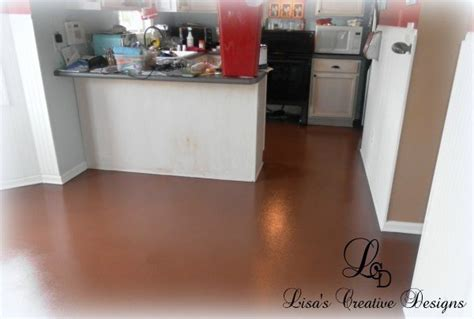 yes you can paint an old laminate floor lisa s creative designs