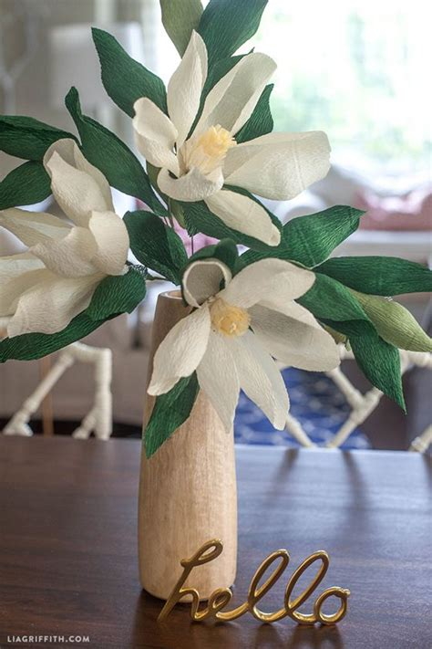 magnolia flower template 17 best images about diy flower crafts or inspiration on