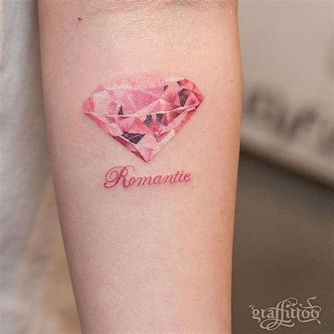 tattoo diamond ink 32 best pink diamond tattoo images on pinterest diamond