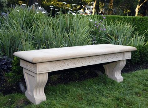 stone garden benches for sale fine contemporary classical inspired stone garden bench