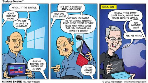 5 books every microsoft fan should read windows central a comic predicted apple inventing microsoft s surface