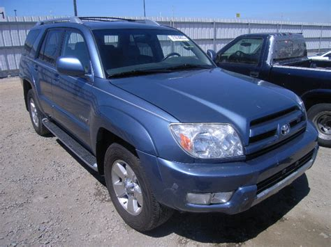 2003 Toyota 4runner Accessories Used Salvage Truck Suv Parts Sacramento