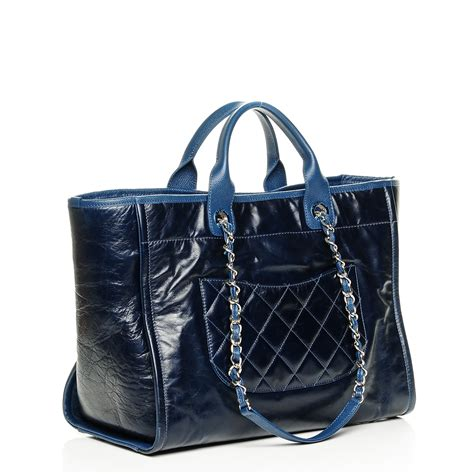 Chanel Deauville Shopping Tote Bags 972 chanel glazed calfskin large deauville tote blue 194384