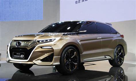 honda acura prep crossovers for beijing auto show