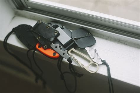 gerber neck knife knife drop most frequently used neck knives