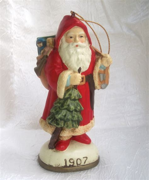 christmas reproductions santa claus figurine ornament 1907
