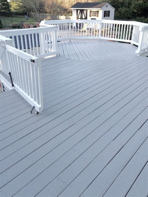 cabot seacoast gray solid stain this color it s on
