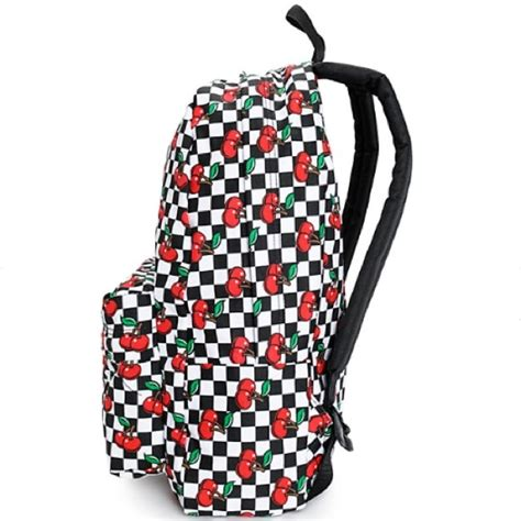 patterned vans bags 63 off vans handbags vans cherry and checkered