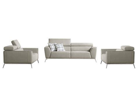 tan fabric sofa divani casa velva modern beige brown fabric sofa set