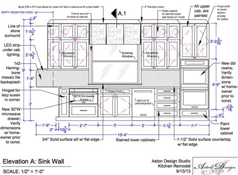 graphic standards for architectural cabinetry life of an drawn kitchen construction drawing pencil and in color
