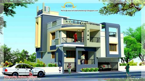 Duplex House Plans With Elevation Duplex House Elevation Single Story Duplex Plans Villa Duplex Houses Designs Mexzhouse