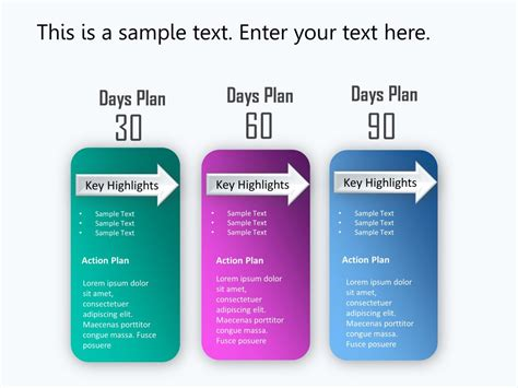 90 days template 30 60 90 day plan powerpoint template 1 30 60 90 day