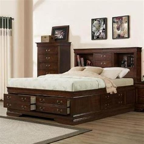 bookcase headboard king size bed austin group marseille king storage bed northeast