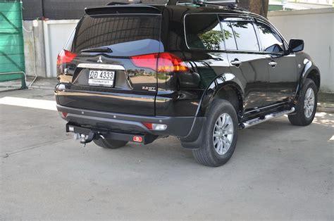 All New Pajero Sport Rear Towing Bar Aksesoris Mitsubishi Pajero mitsubishi pajero sport tow bar