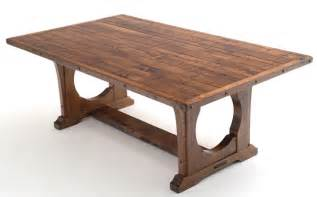 Diy Wood Plank Coffee Table by Craftsman Table Bungalow Dining Table Arts Amp Craft Rustic