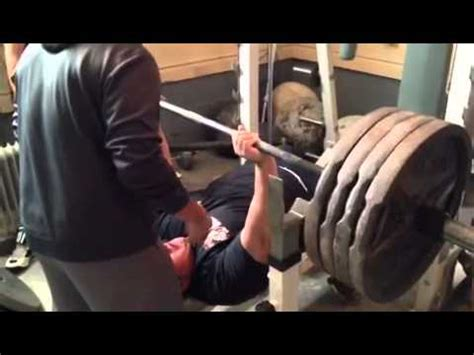 405 bench press 405 lbs bench press x 6 straight reps youtube