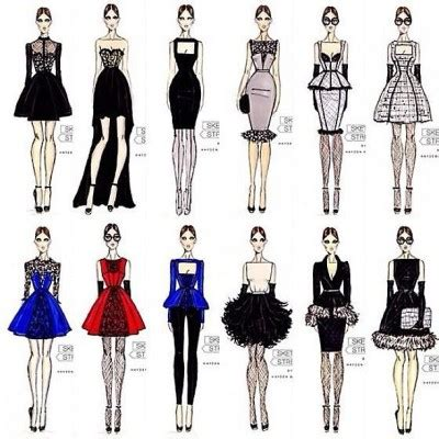 themes for fashion design collection hayden williams fashion illustrations october 2012