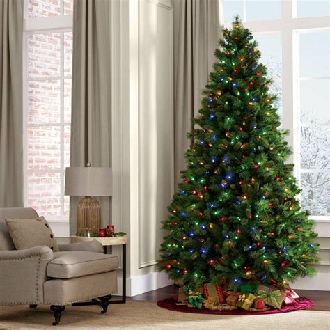 how do i fix my prelit xmas tree 6 7ft green artificial tree pine with led colorful lights stand ebay
