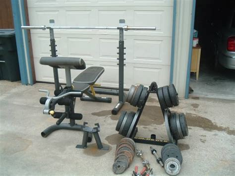 golds gym xr5 olympic weight bench golds gym olympic weights espotted