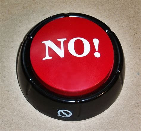 NO! Button