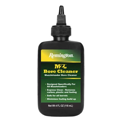 remington accessories mzl bore cleaner 4 oz bottle 16375